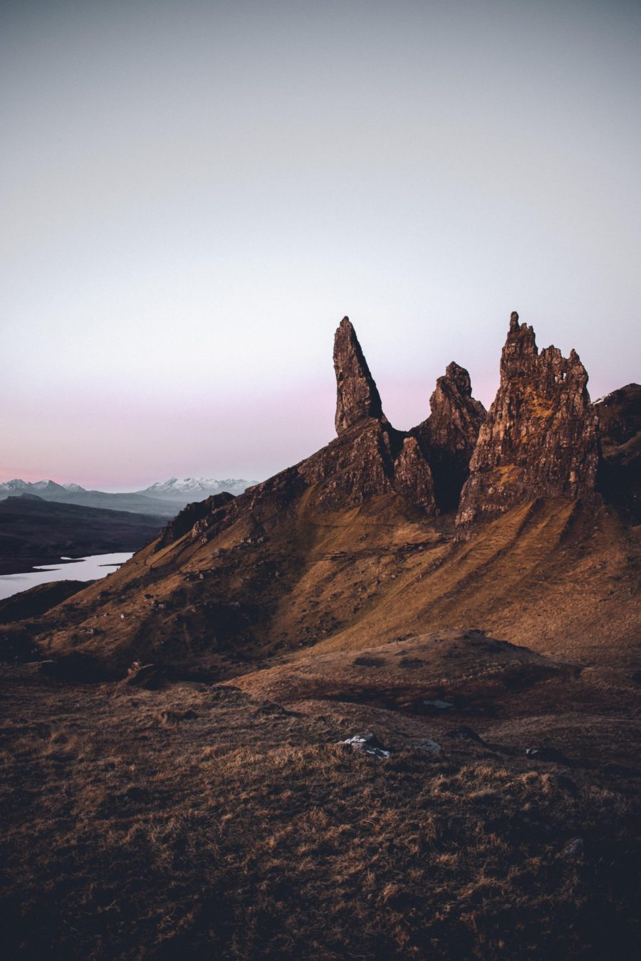Storr sunrise
