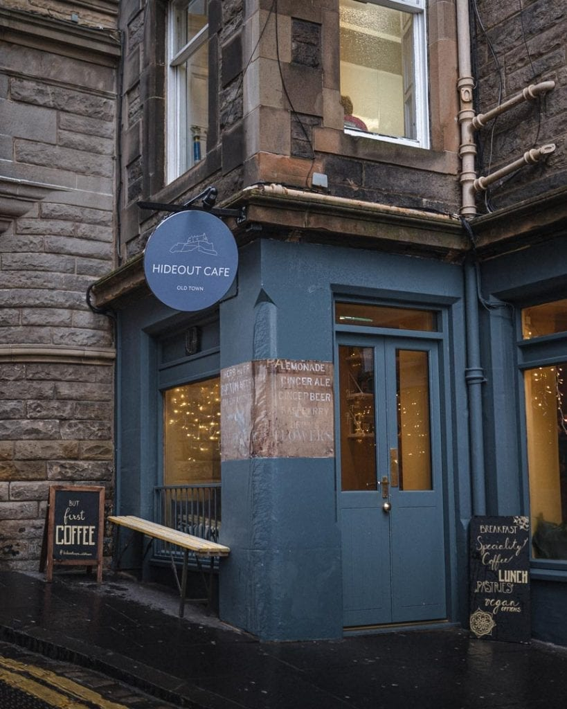 Cafes in Edinburgh