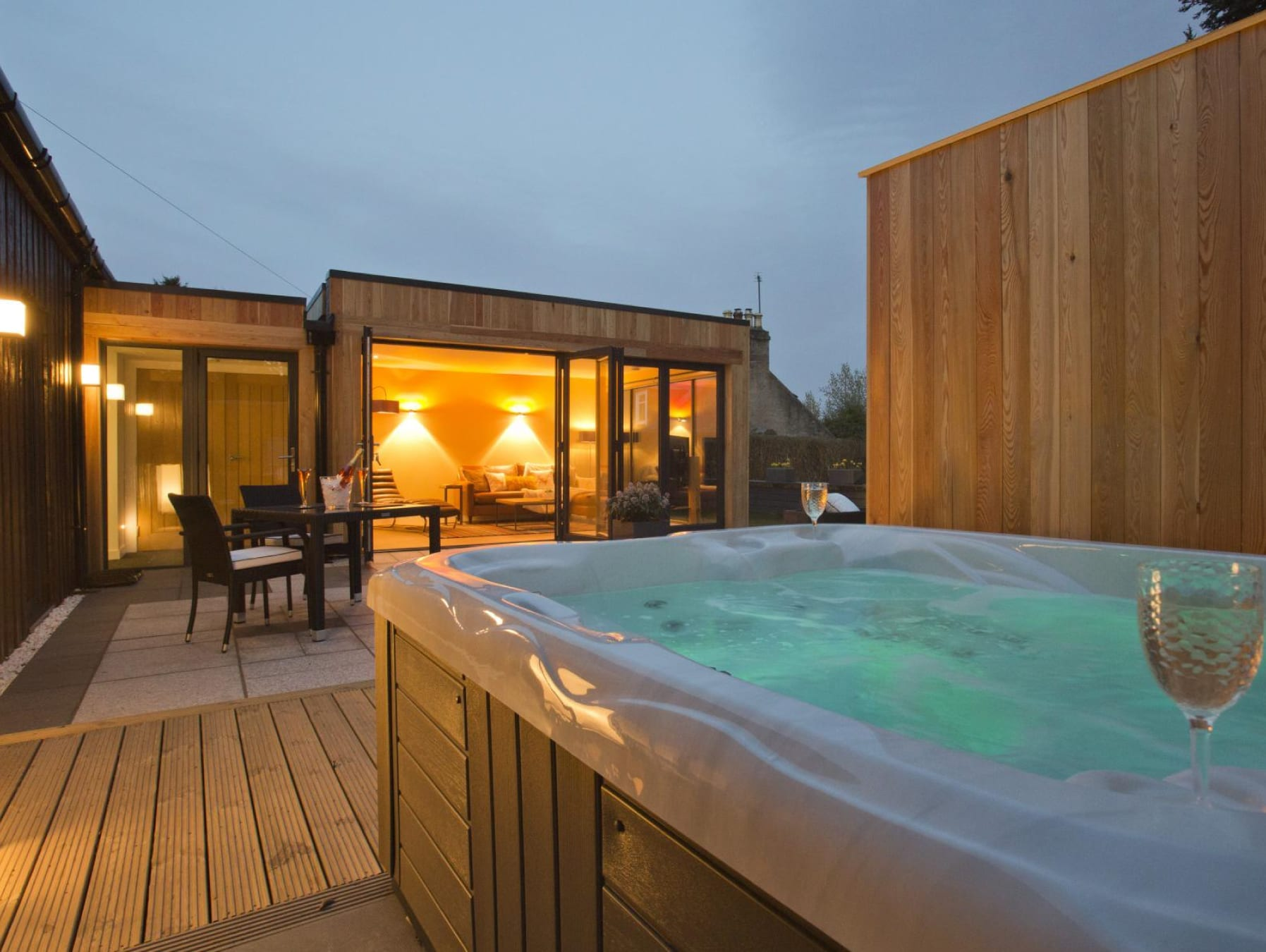 Log Cabins With Hot Tubs In Scotland Hidden Scotland